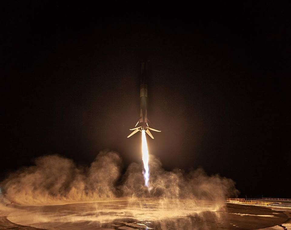 الصاروخ Falcon 9