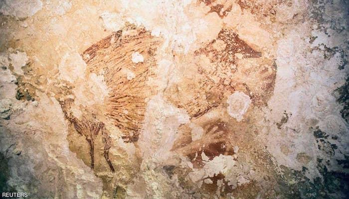 العصر الحجري القديم وفن الكهف في بورنيو