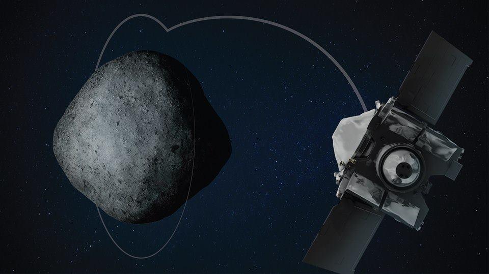 رسمياً، مركبة أوسيريس ركس تدخل في مدارٍ حول كويكب بينو