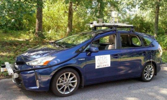 سيارات ذاتية القيادة للطرق الريفية