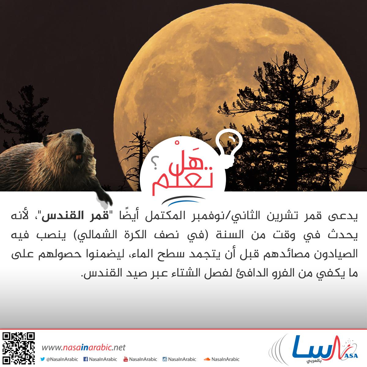 تسمية القمر المكتمل