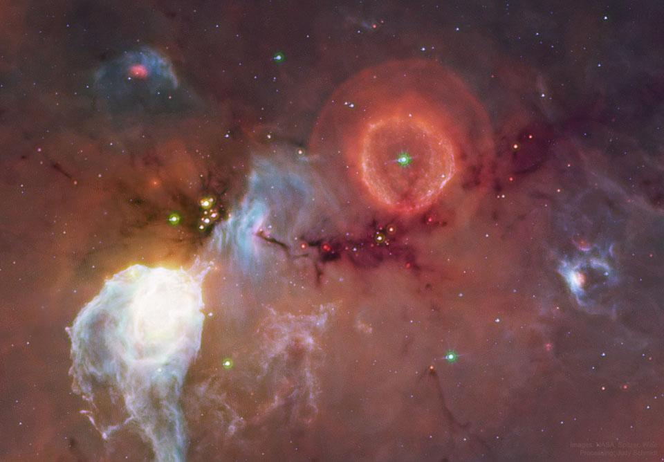 النجم المتغير الساطع G79.29+0.46