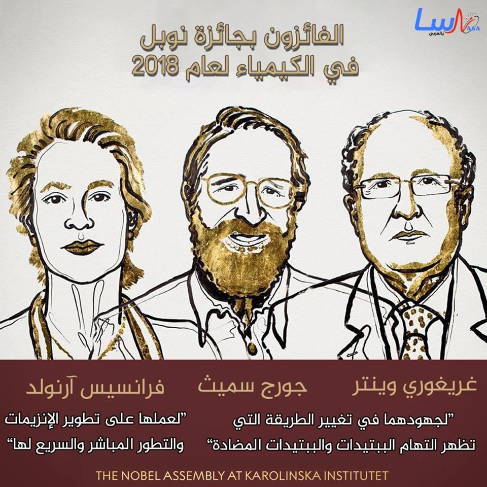 نوبل في الكيمياء 2018