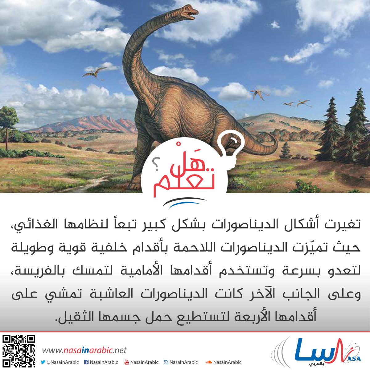تكيف الديناصورات