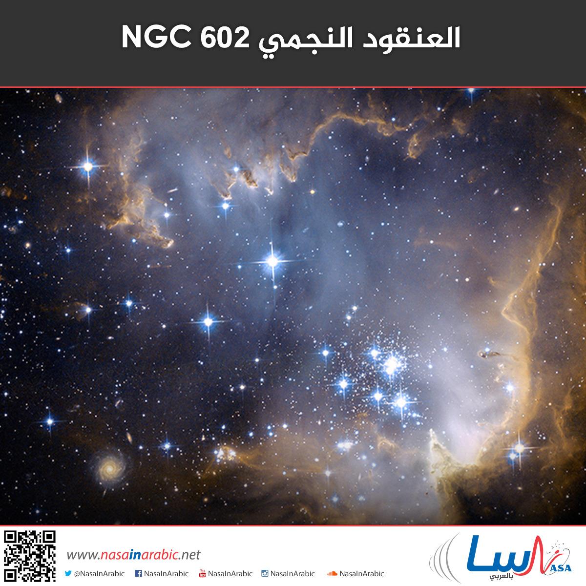 العنقود النجمي NGC 602