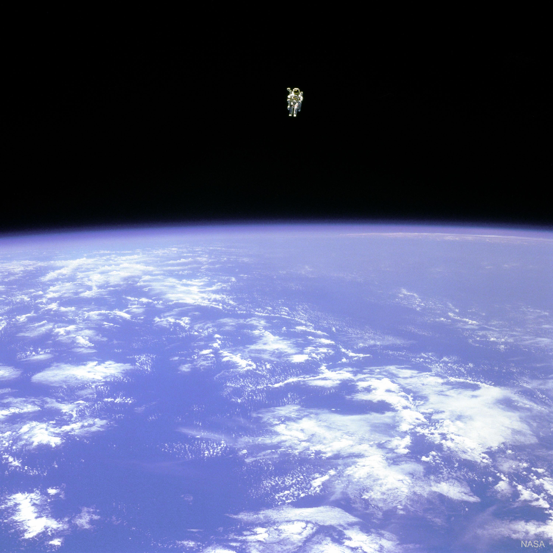نزهة في الفضاء!