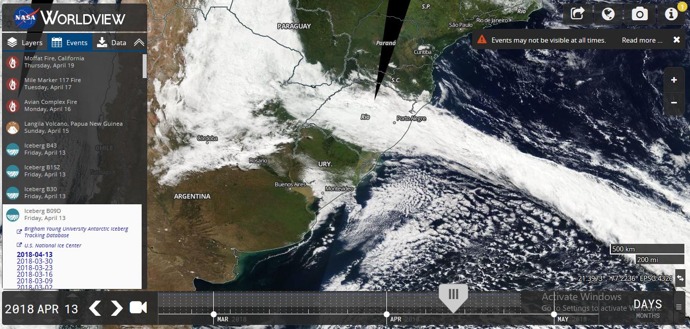 تطبيق Worldview ميزة جديدة تقدمها ناسا لرؤية الأرض كاملة بالزمن الحالي!