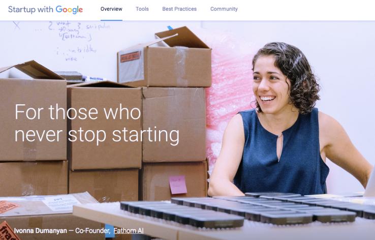 غوغل تطلق موقع Startup with google لمساعدة الشركات الناشئة