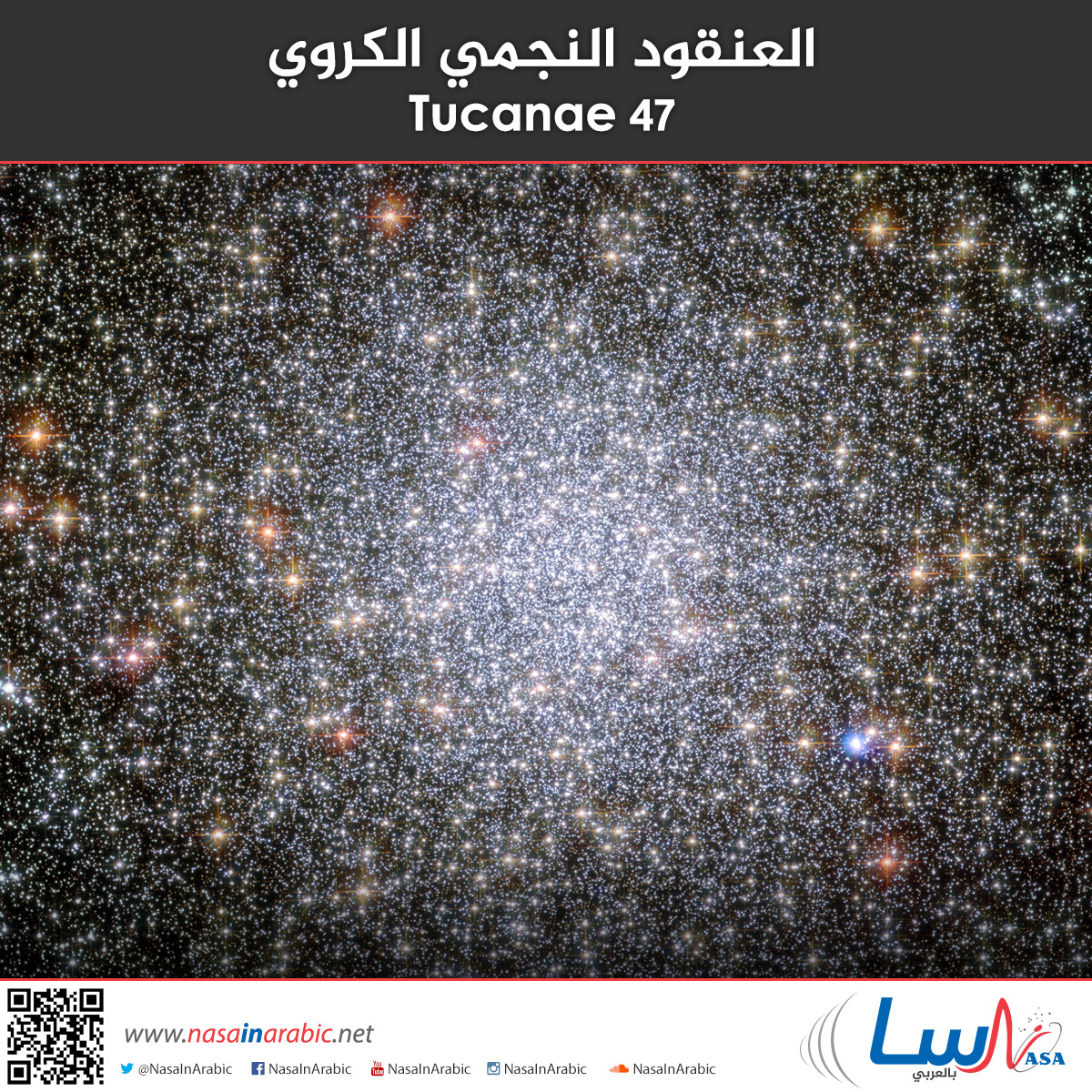العنقود النجمي الكروي 47 Tucanae