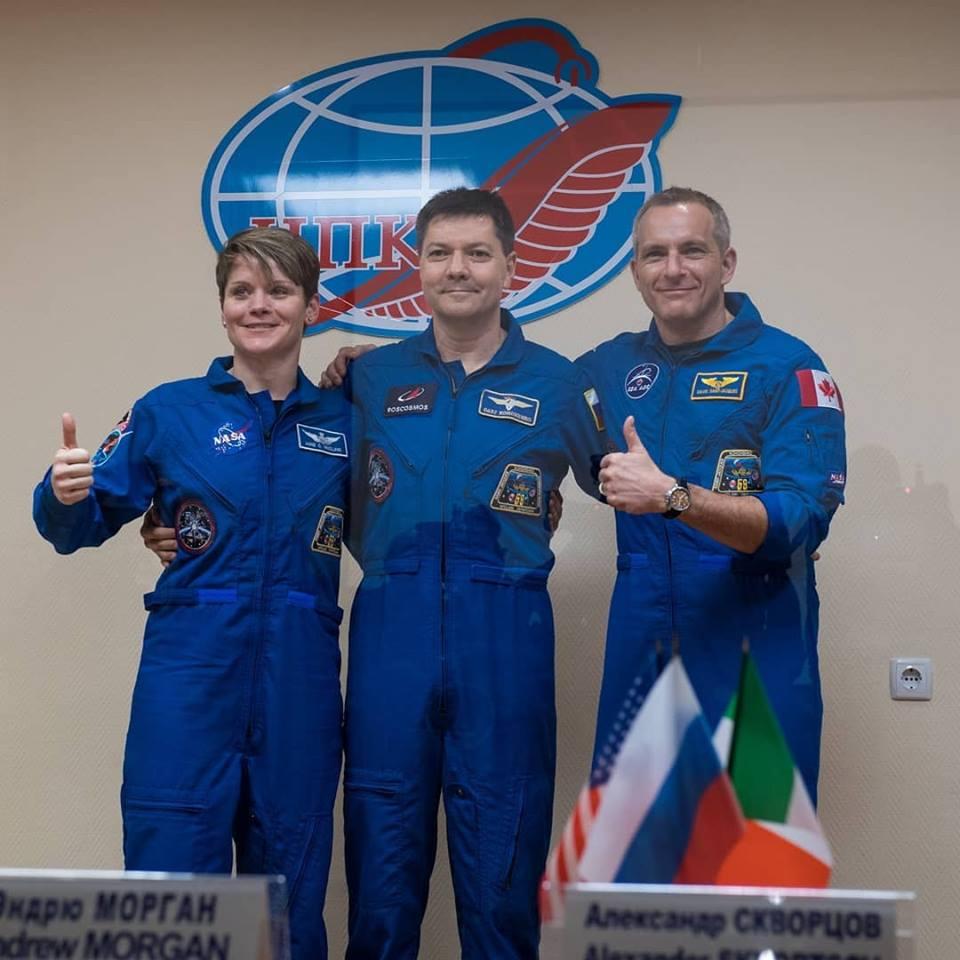 البعثة 58 تنطلق نحو محطة الفضاء الدولية