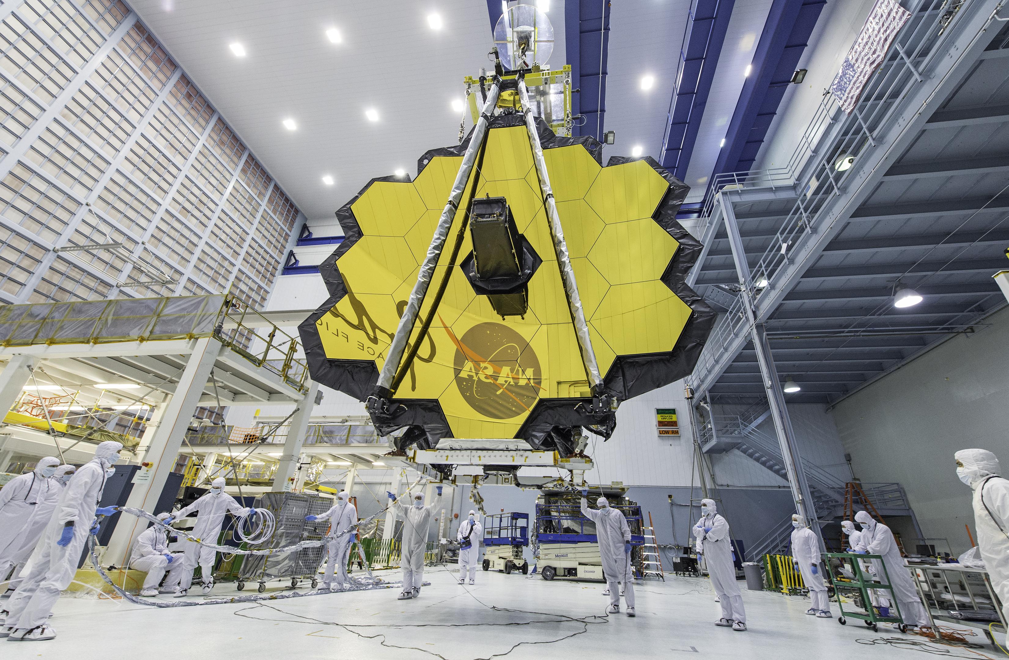تأجيل إطلاق تلسكوب جيمس ويب الفضائي حتى العام 2019