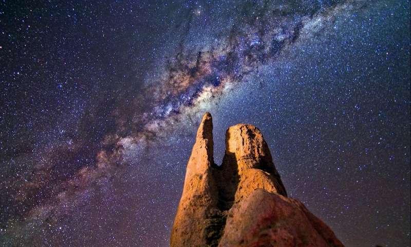 اكتشاف عشرات الآلاف من الثقوب السوداء بالقرب من مركز درب التبانة