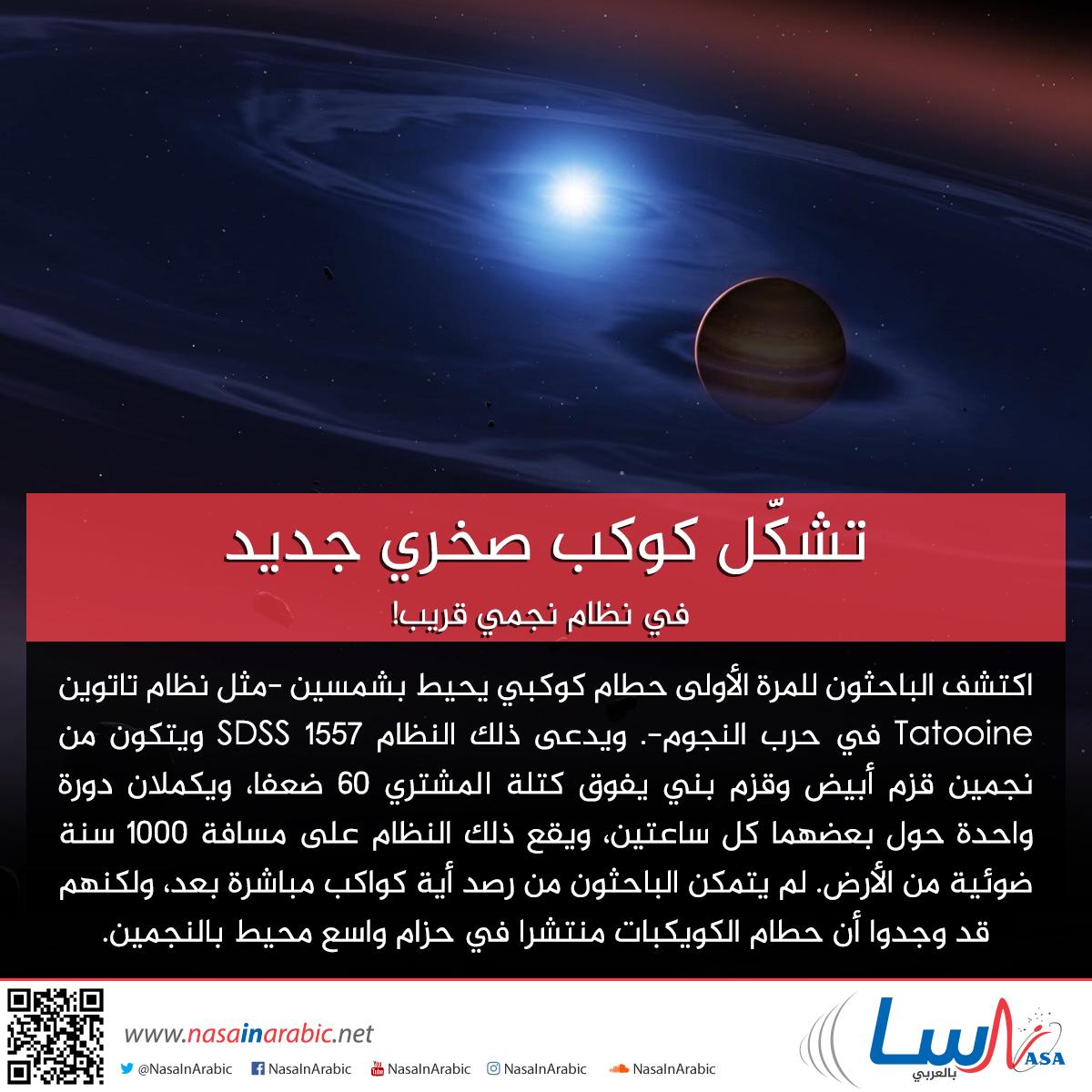 تشكّل كوكب صخري جديد في نظام نجمي قريب!