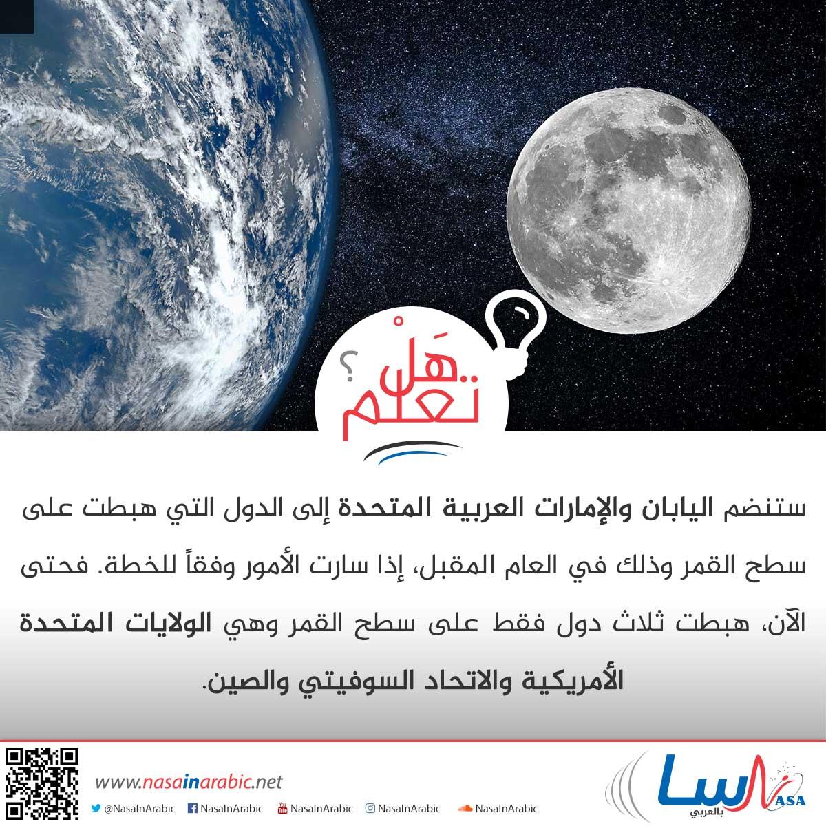 الهبوط على سطح القمر