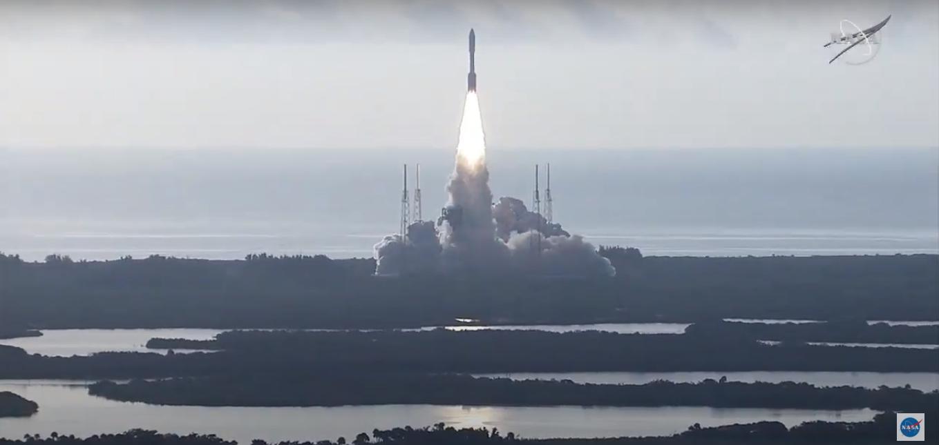 انطلاق مركبة بيرسيفيرانس إلى المريخ بنجاح!
