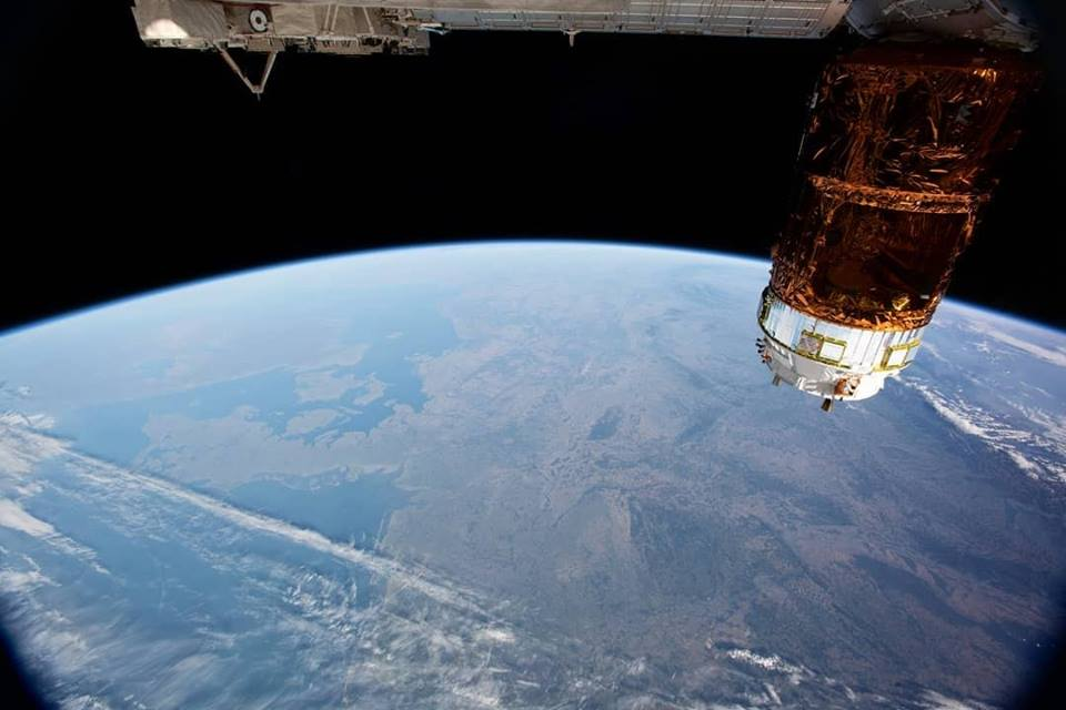 الشمال الأوروبي بعين محطة الفضاء الدولية