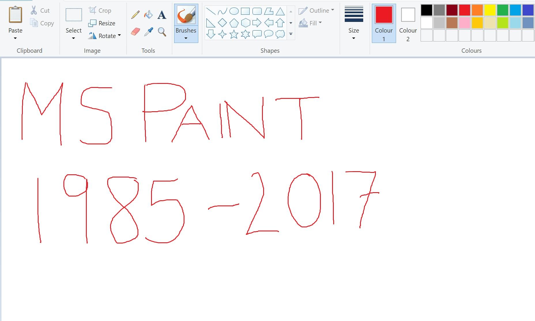 مايكروسوفت تنهي  برنامج الرسام بعد 32 سنة خدمة