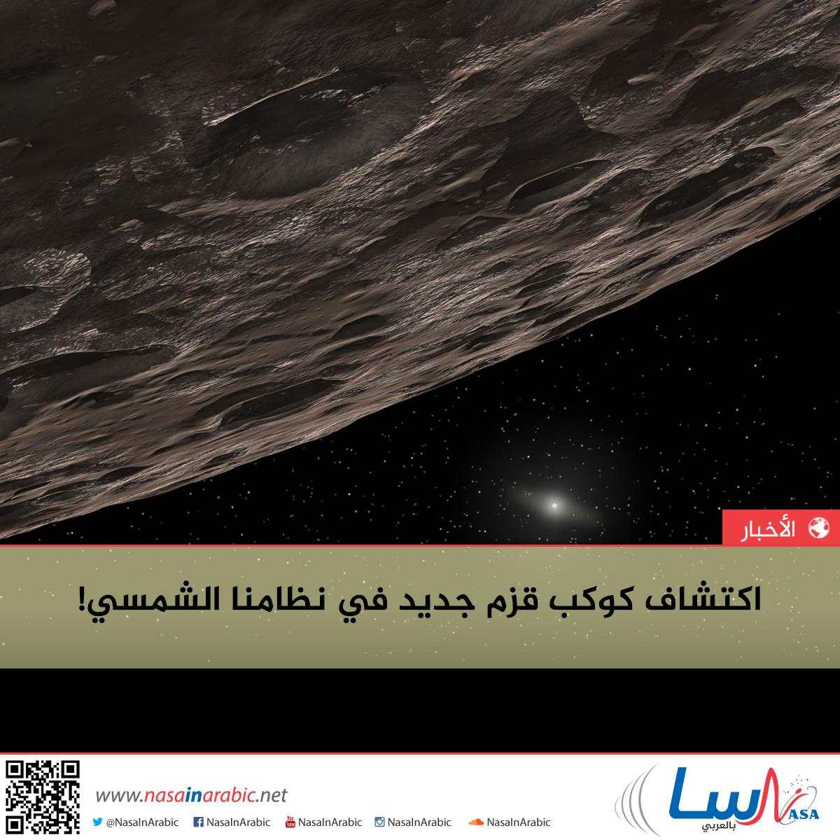 اكتشاف كوكب قزم جديد في نظامنا الشمسي!
