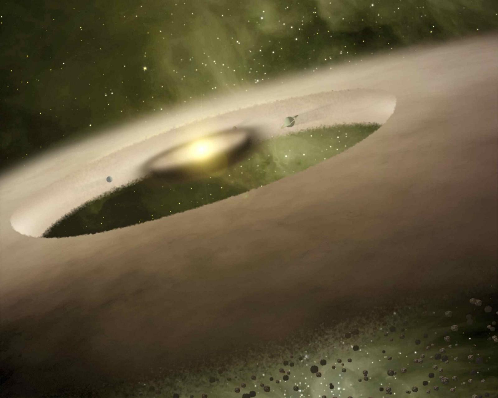 المجموعة الشمسية فقدت أحد كواكبها في فترة نشوئها