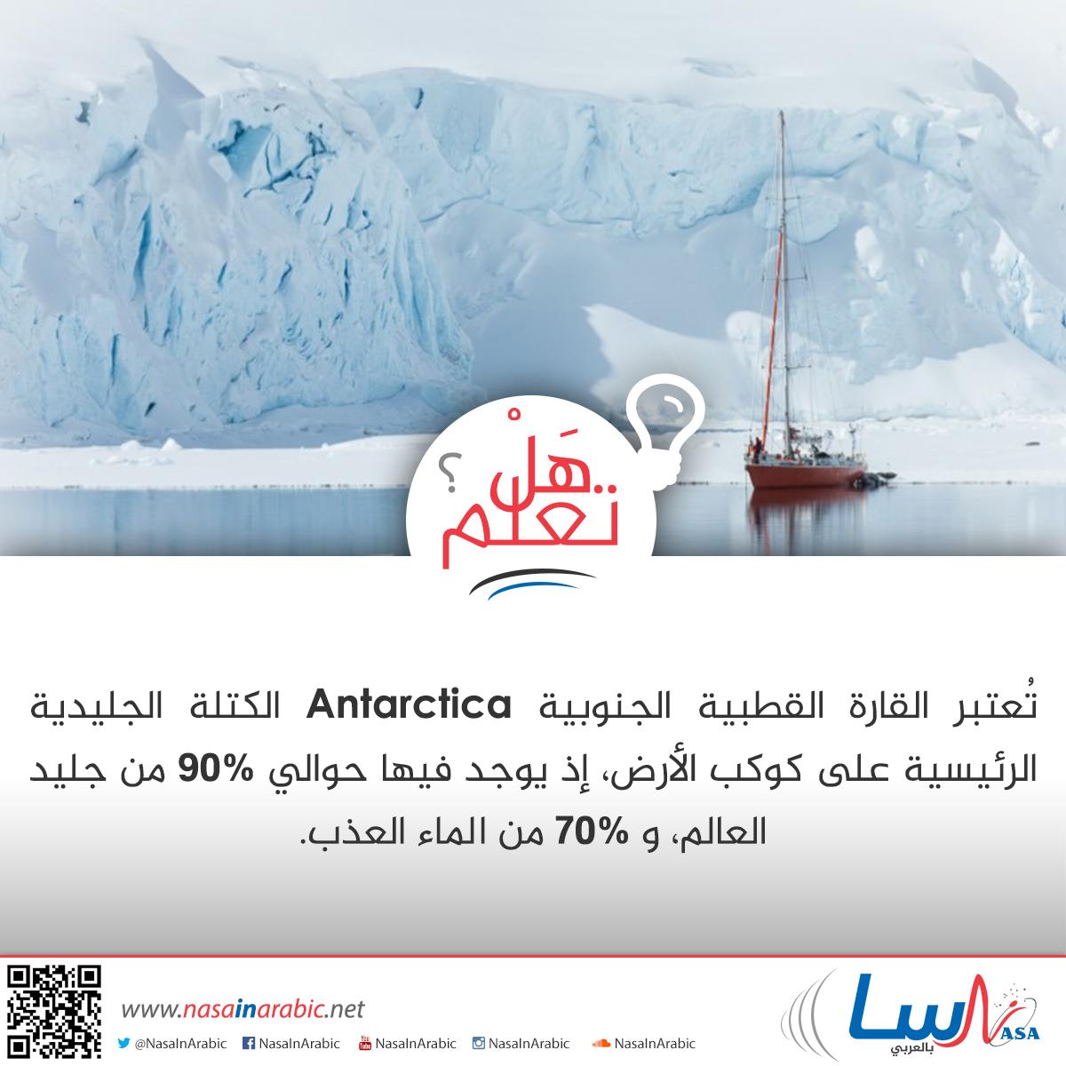الكتلة الجليدية الرئيسية على كوكب الأرض