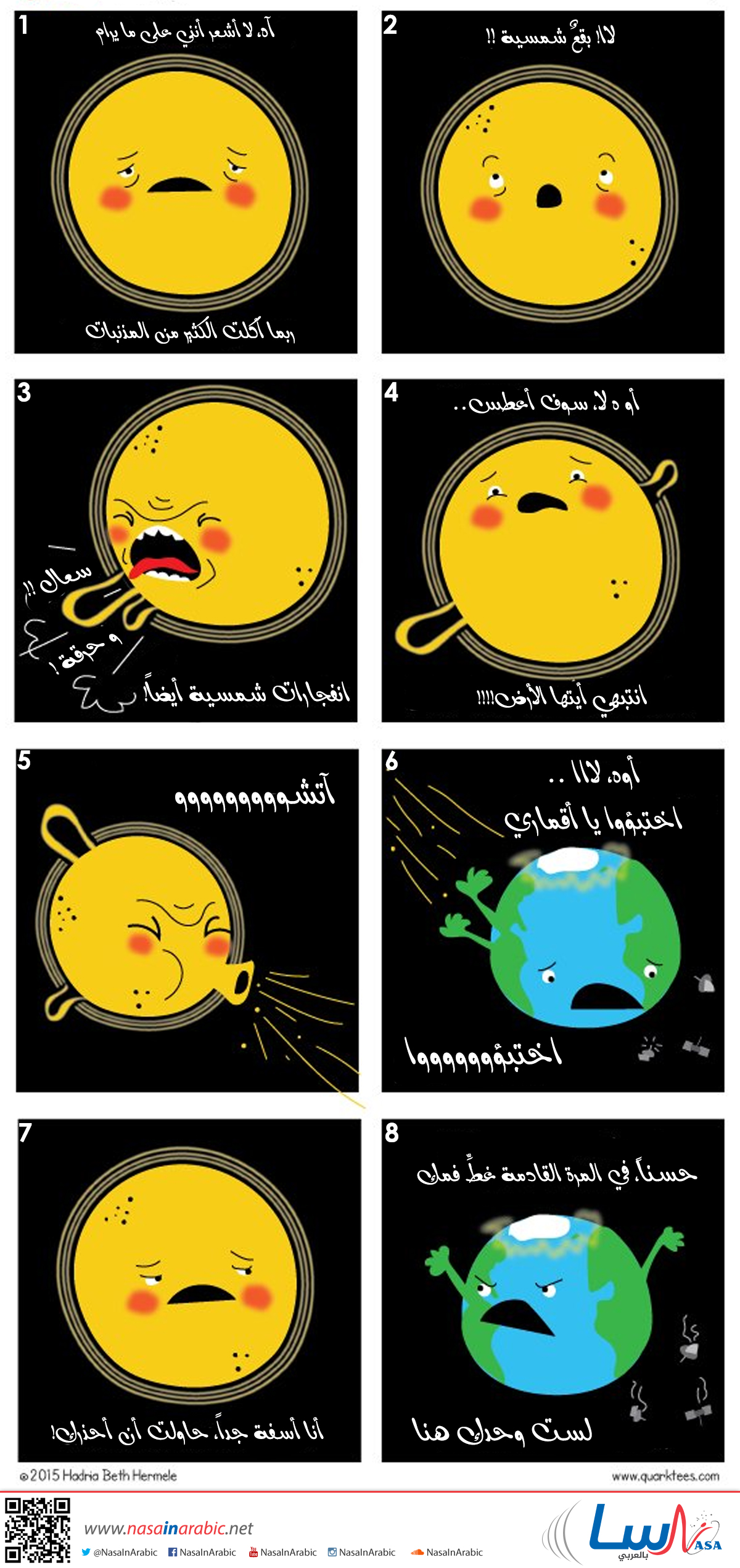 النشاط الشمسي!