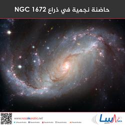 حاضنة نجمية في ذراع NGC 1672