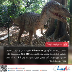 الألوصورAllosaurus