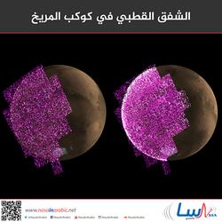 الشفق القطبي في كوكب المريخ