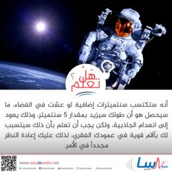 العيش في الفضاء
