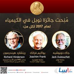 جائزة نوبل في الكيمياء 2017