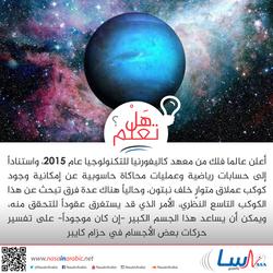 الكوكب التاسع النظري
