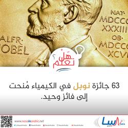 فائز وحيد بجائزة نوبل في الكيمياء