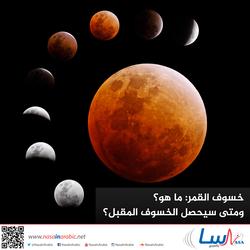 ما الذي يسبب خسوف القمر؟