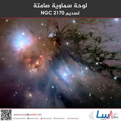لوحة سماوية صامتة لسديم NGC 2170