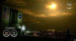 سبيس إكس تنجح بإطلاق أربعة رواد فضاء إلى محطة الفضاء الدولية في مهمتها المأهولة الثالثة