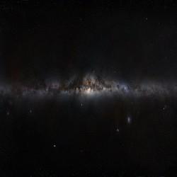 صورة بانورامية لمجرة درب التبانة