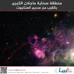 منطقة سحابة ماجلان الكبرى بالقرب من سديم العنكبوت