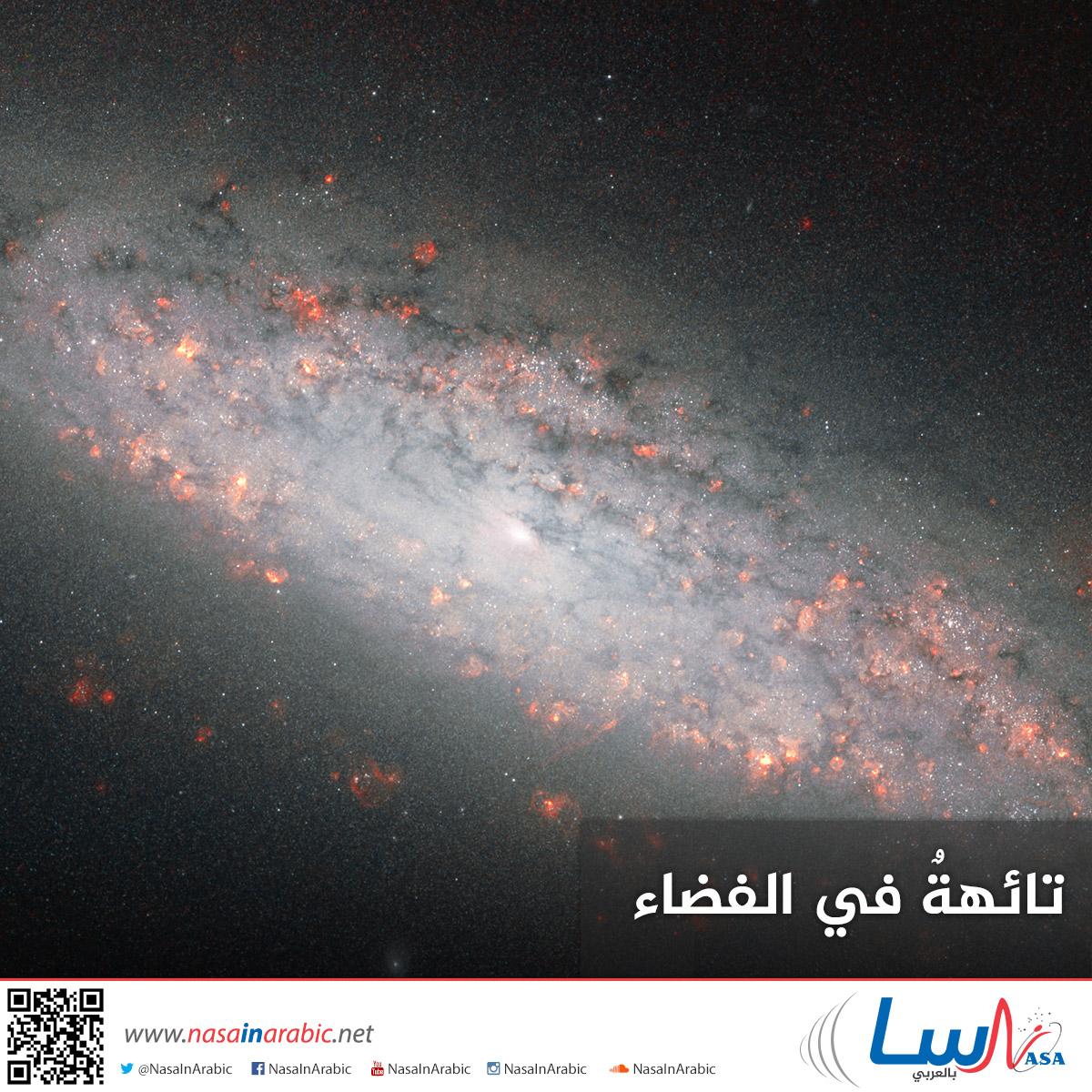 تائهةٌ في الفضاء صورة هابل الجديدة للمجرة NGC 6503