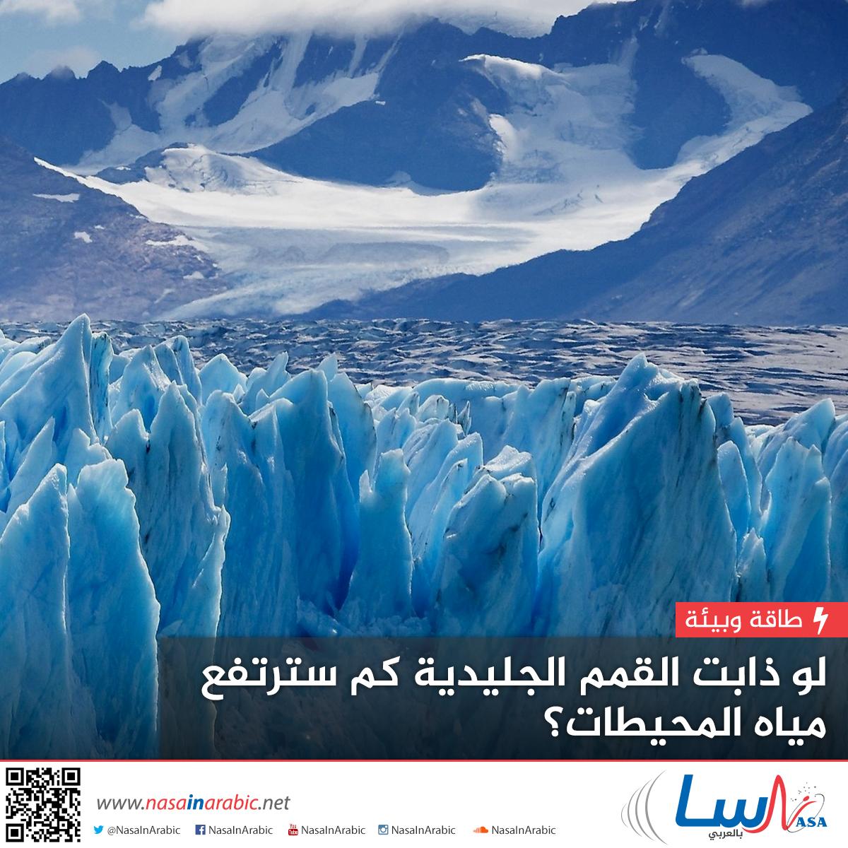 لو ذابت القمم الجليدية... كم سترتفع مياه المحيطات؟