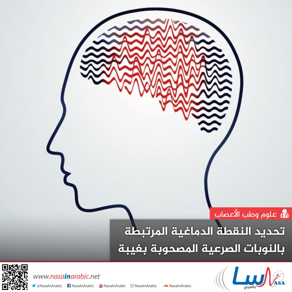 تحديد النقطة الدماغية المرتبطة بالنوبات الصرعية المصحوبة بغيبة