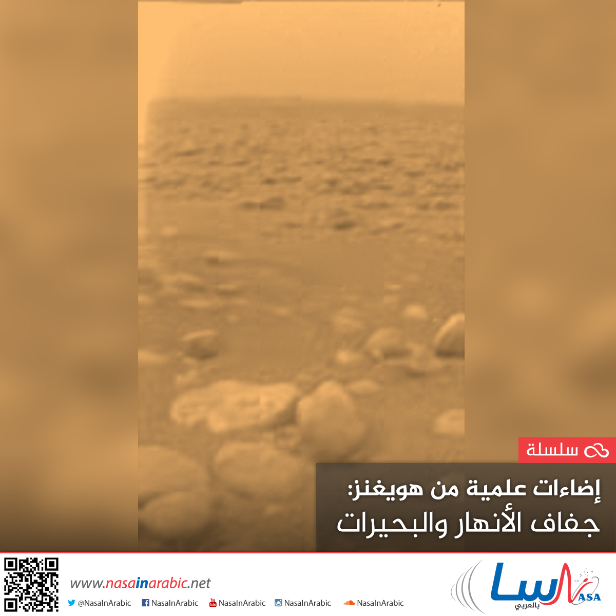 إضاءات علمية من هويغنز: جفاف الأنهار والبحيرات