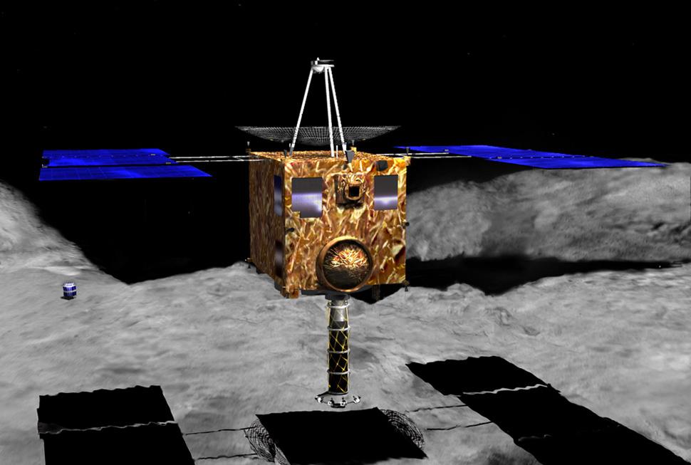 اليابان.....أول الواصلين إلى كويكب