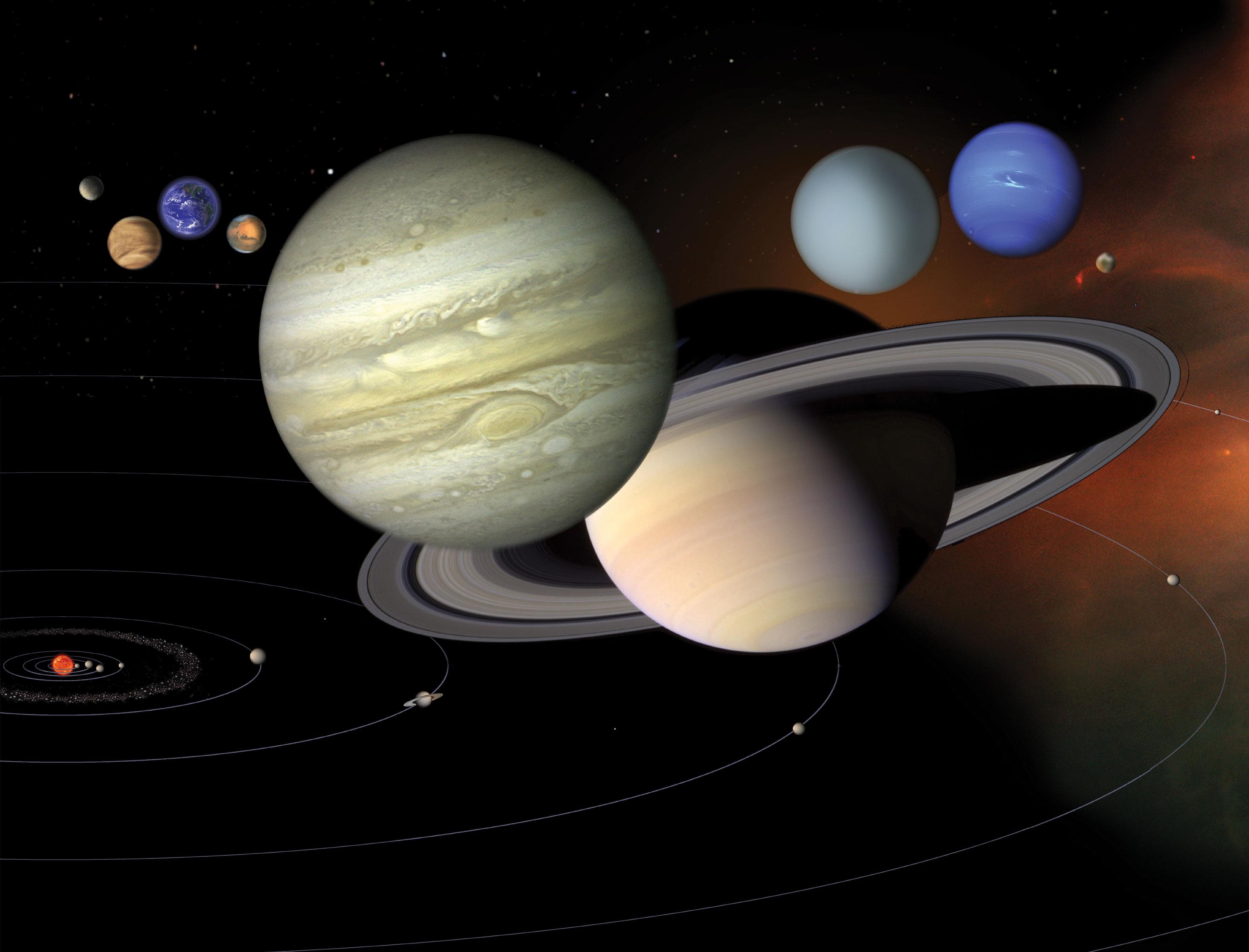 نظامنا الشمسي: اقرأ المزيد