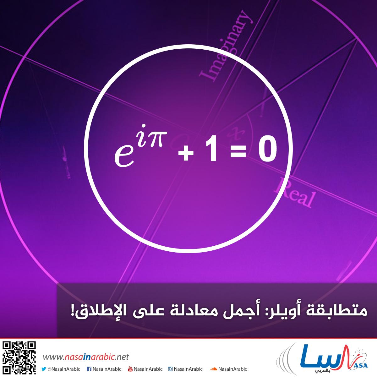 متطابقة أويلر: أجمل معادلة على الإطلاق!