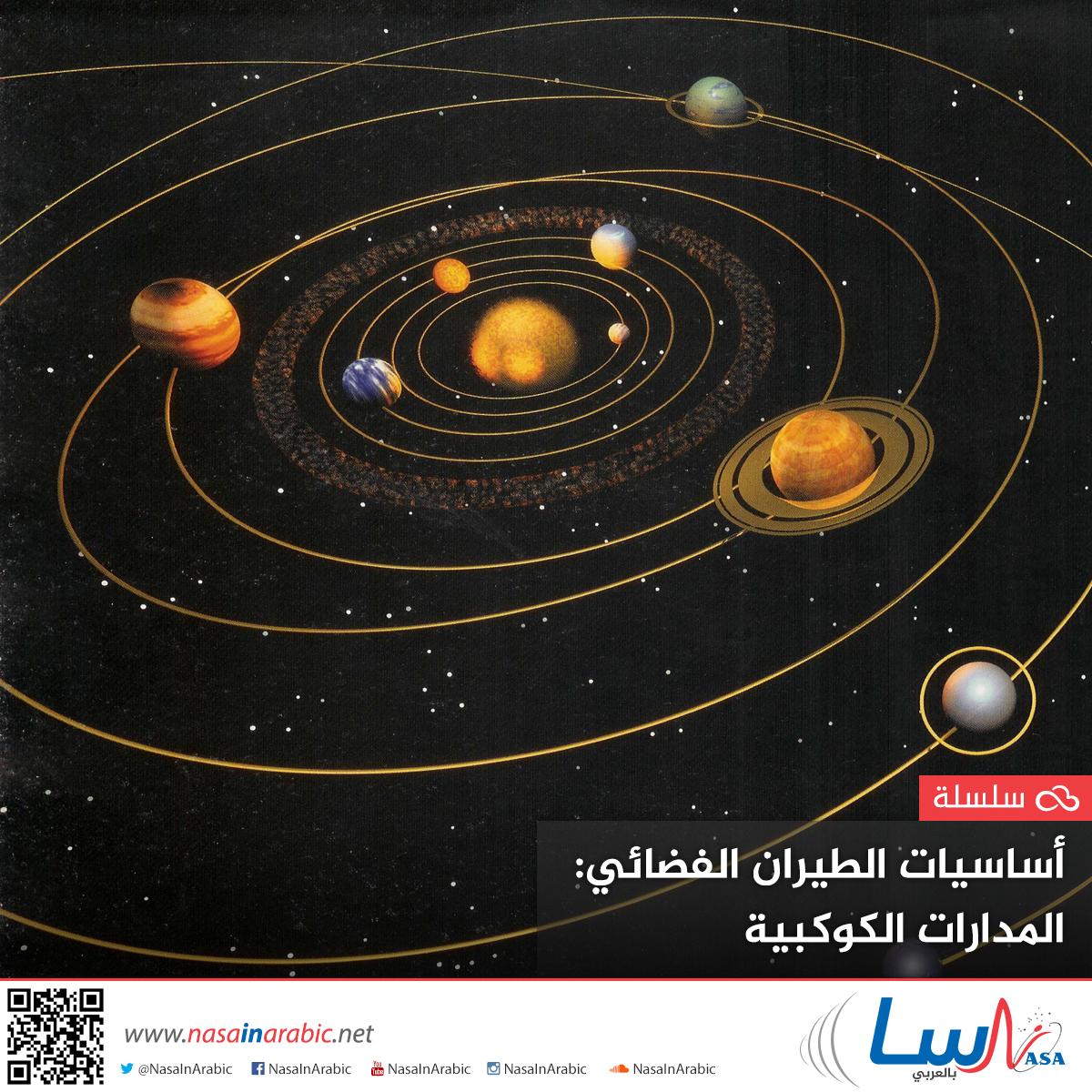 أساسيات الطيران الفضائي: المدارات الكوكبية