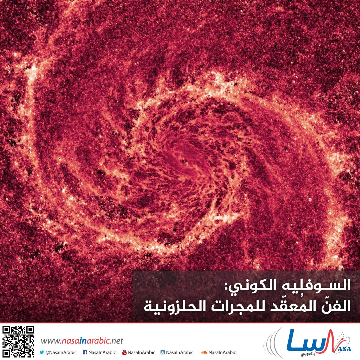 السوفليه الكوني: الفنّ المُعقّد للمجرات الحلزونية