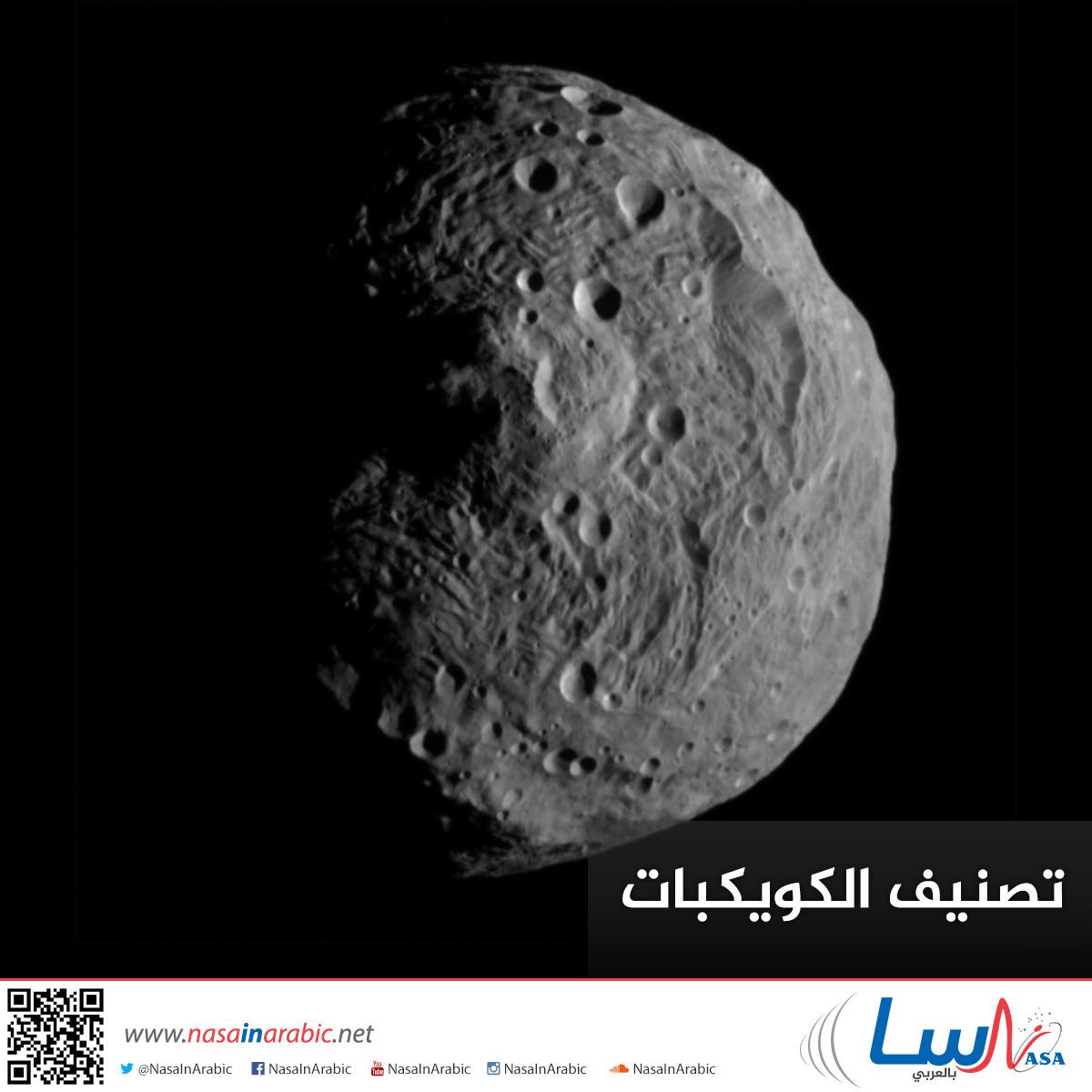 تصنيف الكويكبات