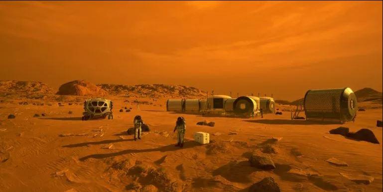 مستقبلًا على المريخ قد يتمكن رُوّاد الفضاء من صُنع وقود صواريخ من الميثان