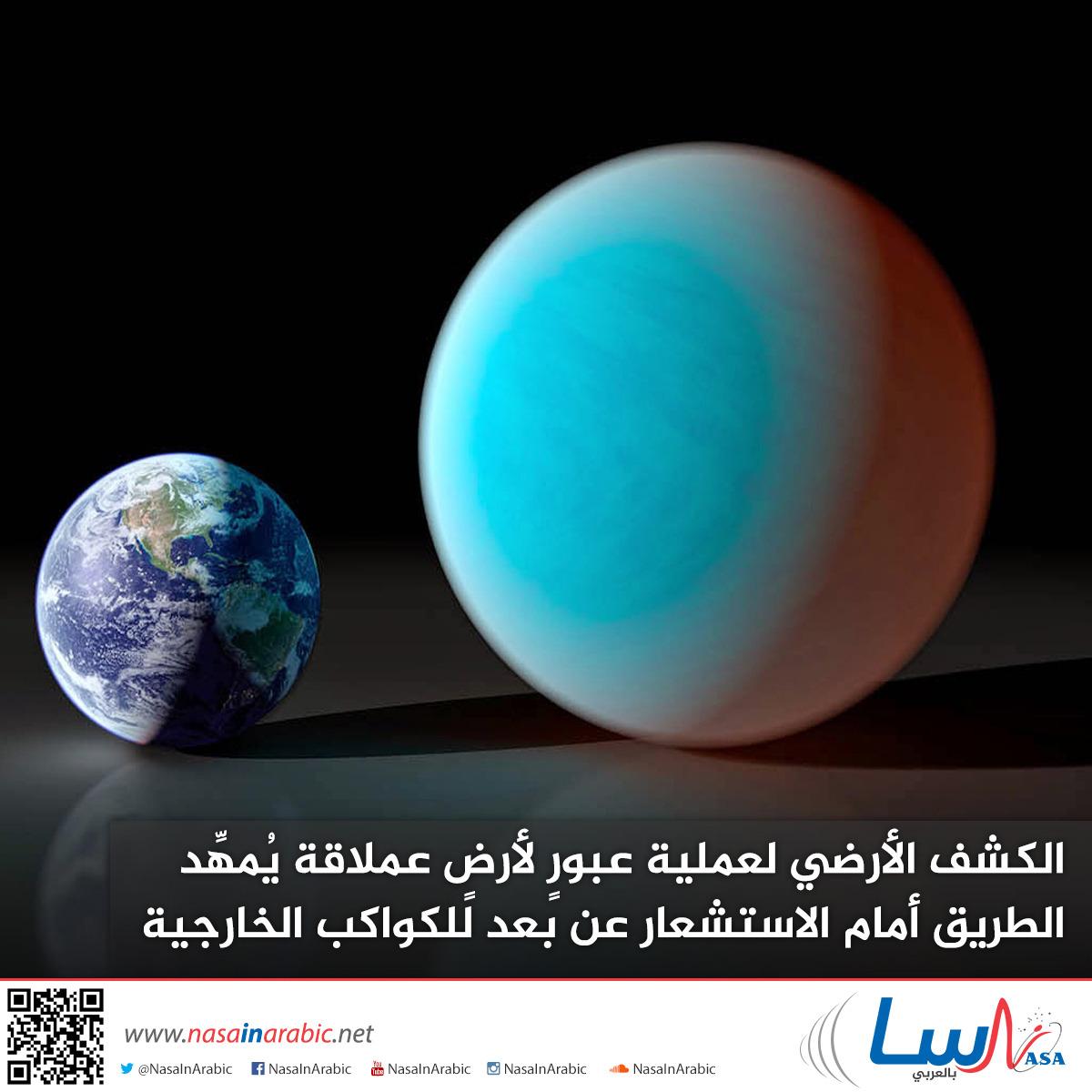 الكشف الأرضي لعملية عبورٍ لأرضٍ عملاقة يُمهِّد الطريق أمام الاستشعار عن بعد للكواكب الخارجية الصغيرة