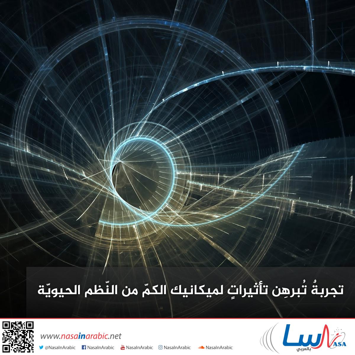 تجربة تبرهن تأثيرات لميكانيك الكم من النظم الحيوية